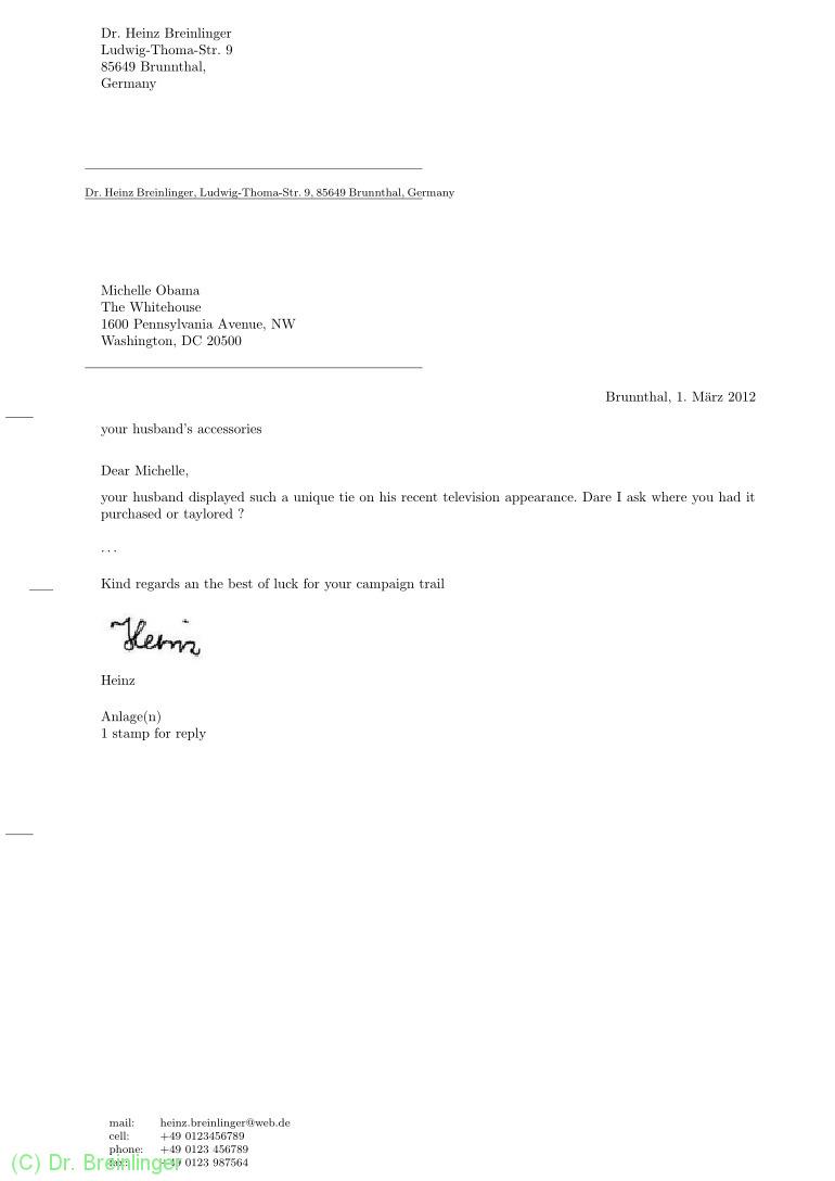 Briefe Mit Anlagen : Dr breinlinger din briefe mit latex